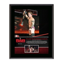 "Chris Jericho ""First U.S. Championship Reign""  10 x 13 Commemorative Photo Plaque"