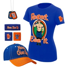 "John Cena ""Respect. Earn It."" Women's T-Shirt Package"