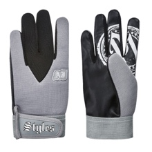 AJ Styles Grey Replica Gloves