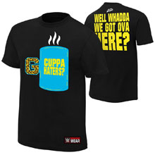 """Enzo & Big Cass """"Cuppa Haters"""" Youth Authentic T-Shirt"""