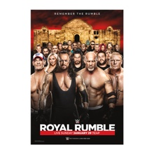 WWE Royal Rumble 2017 Poster