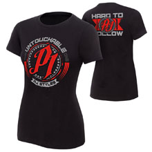 "AJ Styles ""Untouchable"" Women's Authentic T-Shirt"