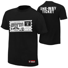 "Brock Lesnar ""One Way Ticket"" Authentic T-Shirt"