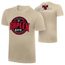 "Brock Lesnar ""Suplex City"" Vintage T-Shirt"