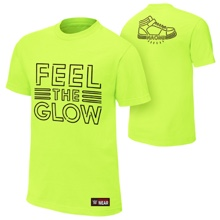"Naomi ""Feel The Glow"" Neon Authentic T-Shirt"