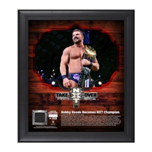 Bobby Roode NXT TakeOver: San Antonio 15 x 17 Framed Plaque w/ Ring Canvas