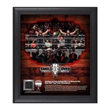 Authors of Pain NXT TakeOver San Antonio 15 x 17 Framed Plaque w/ Ring Canvas