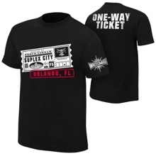 "Brock Lesnar ""One Way Ticket"" Orlando T-Shirt"