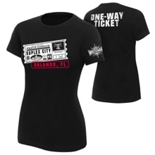 "Brock Lesnar ""One Way Ticket"" Orlando Women's T-Shirt"