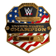 WWE United States Championship Jakks Belt Buckle