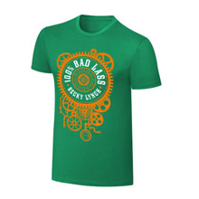 "Becky Lynch ""100% Bad Lass"" St. Patrick's Day T-Shirt"