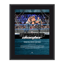 Randy Orton Elimination Chamber 2017 10 x 13 Commemorative Photo Plaque