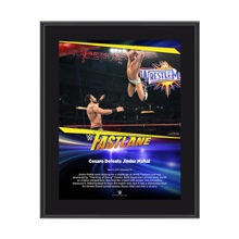 Cesaro FastLane 2017 10 X 13 Commemorative Photo Plaque