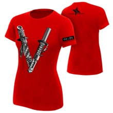 "Shinsuke Nakamura ""The Vibe"" Women's Authentic T-Shirt"
