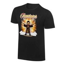 "WWE x NERDS Bobby Roode ""I Won't Give In"" Cartoon T-Shirt"