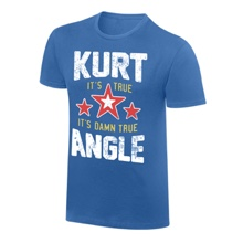 "Kurt Angle ""It's Damn True"" Vintage T-Shirt"