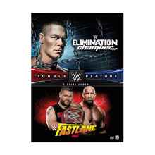 WWE Elimination Chamber & FastLane 2017 Double Feature DVD