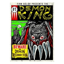 "Finn Bálor ""Demon King #1"" Poster"
