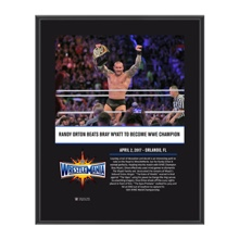 Randy Orton WrestleMania 33 10 X 13 Commemorative Photo Plaque