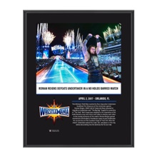 Roman Reigns WrestleMania 33 10 X 13 Commemorative Photo Plaque