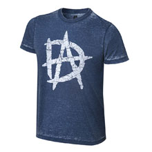 "Dean Ambrose ""Unstable"" Acid Wash T-Shirt"
