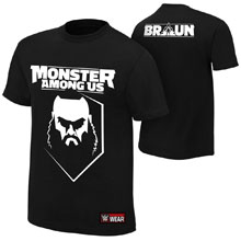 "Braun Strowman ""Monster Among Us"" Youth Authentic T-Shirt"