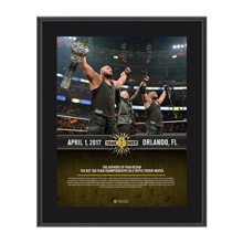 Authors of Pain NXT TakeOver Orlando 10 x 13 Commemorative Photo Plaque