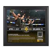 Authors of Pain NXT TakeOver Orlando 15 x 17 Framed Plaque w/ Ring Canvas