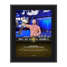 Bobby Roode NXT TakeOver Orlando 10 x 13 Commemorative Photo Plaque