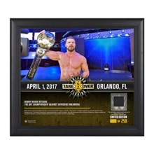 Bobby Roode NXT TakeOver Orlando 15 x 17 Framed Plaque w/ Ring Canvas