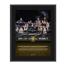 SAnitY NXT TakeOver Orlando 10 x 13 Commemorative Photo Plaque
