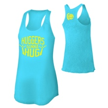 "Bayley ""Huggers Gonna Hug"" Women's Racerback Tank Top"