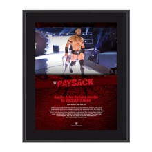 Neville Payback 2017 10 x 13 Commemorative Photo Plaque