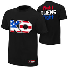 "Kevin Owens ""The New Face of America"" Youth Authentic T-Shirt"