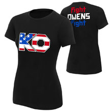 "Kevin Owens ""The New Face of America"" Women's Authentic T-Shirt"