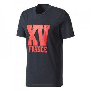 """France Rugby Presentation T-Shirt – Punjab/White"""