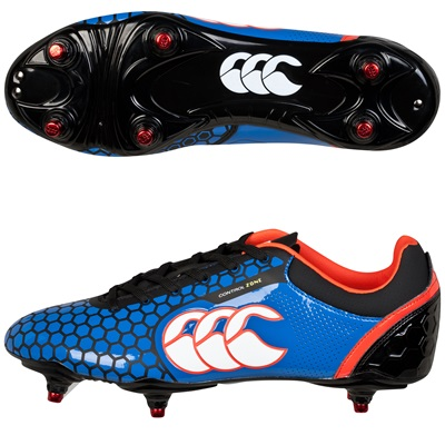 """Canterbury Control Club Soft Ground Boot Blue"""