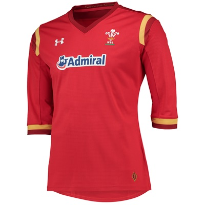 """""""Welsh Rugby Rugby Home Supporters Shirt 15/16 – Womens Red"""""""