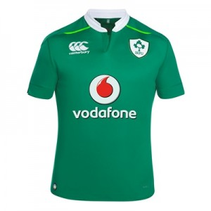 """Ireland Rugby VapoDri+ Home Pro Rugby Shirt – Junior"""