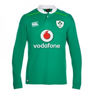 """Ireland Rugby Home Classic Rugby Shirt – Long Sleeve"""