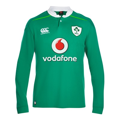 """""""Ireland Rugby Home Classic Rugby Shirt – Long Sleeve"""""""