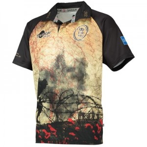 Army Rugby Battle Of The Somme 100th Anniversary Shirt