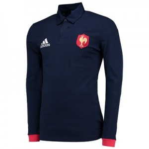 """France Rugby Supporters Shirt – Long Sleeve"""