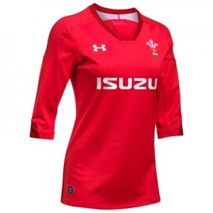 """Welsh Rugby Home Supporters Jersey – Womens"""