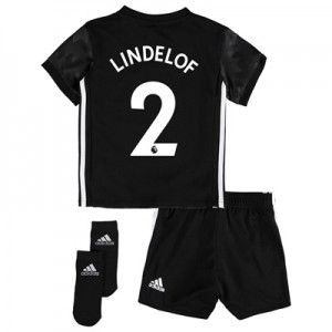 Manchester United Away Baby Kit 2017-18 with Lindelof 2 printing