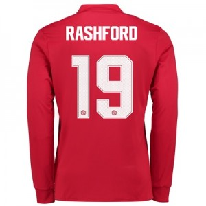 Manchester United Home Cup Shirt 2017-18 – Long Sleeve with Rashford 1