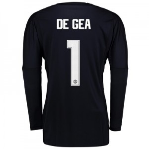 Manchester United Home Goalkeeper Cup Shirt 2017-18 with De Gea 1 prin