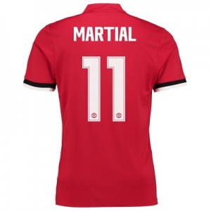 Manchester United Home Cup Shirt 2017-18 – Kids with Martial 11 printi