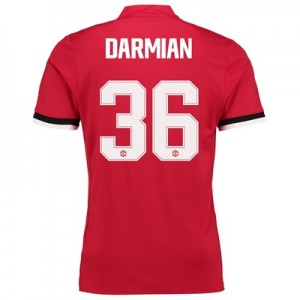 Manchester United Home Cup Shirt 2017-18 – Kids with Darmian 36 printi