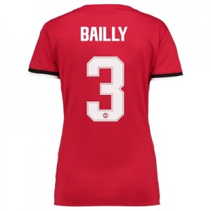 Manchester United Home Cup Shirt 2017-18 – Womens with Bailly 3 printi